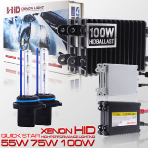 55w 75w 100w 9005 Hid Xenon Conversion Kit For Headlight High Beam For Chevrolet