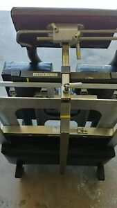 Osi 914 Andrews Spine Frame System With Cart