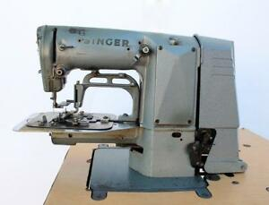 Singer 269w8 Drapery Tacker F Shape 3 1 2 Lockstitch Industrial Sewing Machine