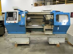 Clausing Metosa Model Cnc2440 Cnc Lathe With Fagor 8055tc Control