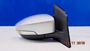 2013 2016 Ford Escape Silver Right Passenger Side Power Door Mirror W Blind Spot