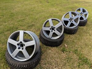Volvo 18 Inch Pegasus Rims Set Of 4 Powder Coated