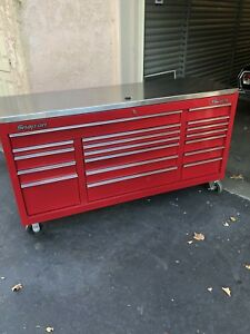Snap On Tool Box Classic 96 With Stainless Top