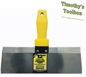 Ames Cool Grip Stainless Steel Taping Knife Full Set 6 8 10 12 14