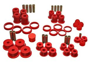 Energy Suspension 2 18105r Complete Master Bushing Kit 84 01 Jeep Cherokee 4wd