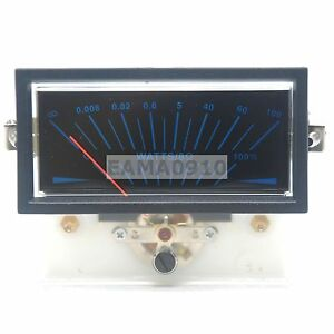 Tn 73hs Vu Meter Db Level Header Amplifier Chassis Audio With Backlight