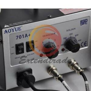 New Aoyue 701a Hot Air Rework Station With Soldering Iron Repair Tool 2 In1
