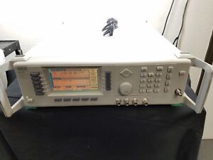 Wiltron 68347b Synthesized Signal Generator 10mhz 20ghz Opt 2a 11