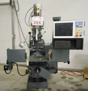 Remedy Model 3vk 2 axis Cnc Vertical Knee Mill With Centroid M400i Cnc Control
