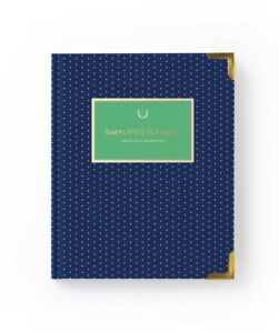 New Emily Ley Simplified Planner 2018 2019 Academic Weekly Edition Navy Dot