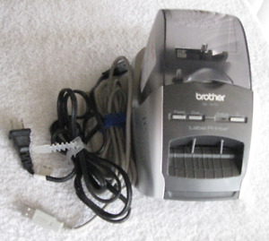 Brother Ql 570 Professional High Resolution Thermal Label Printer W power Cord