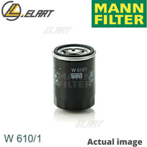 Oil Filter For Suzuki Fiat Vw Subaru Perodua Sx4 Saloon Gy Mann Filter W 610 1