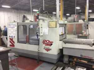 Haas Model Vf 4 Vertical Machining Center With Pallet Changer Haas Control