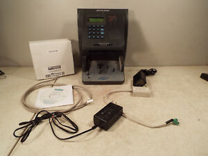 Schlage Biometric Handpunch Time Clock Hp 2000 Payroll Security Access Acroprint