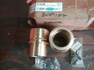 Danly 6 16 48 2 000 Id X 3 625 Oal Bronze Bushings new old Stock