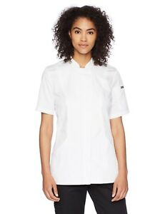 Chef Works Women s Roxby Chef Coat White X small Nwot