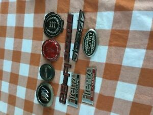 Vintage Lot Of Chevy Buick Pontiac Oldsmobile Dodge Ford Emblems