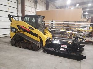 Cat 297c Skid Steer With High Flow Attachments
