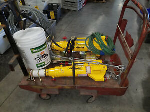 Miller Honeywell Durahoist With Dh ap 9 Fall Arrest Anchor I Beam Base Lot