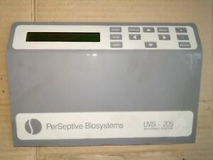 Front Panel For Perseptive Biosystems Uvis 205 5 1085 05 Absorbance Detector