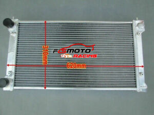 2 Row Aluminum Radiator For Vw Golf rabbit scirocco Gti Mk1 2 8v 1980 1992 Mt