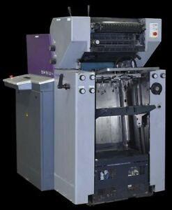 Heidelberg Qm 46 Printmaster Industrial 2 color Offset Printing Press As is