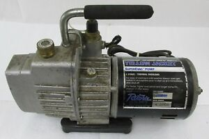 Ritchie Yellow Jacket 93560 Superevac Pump 2 Stage Thermal Overload