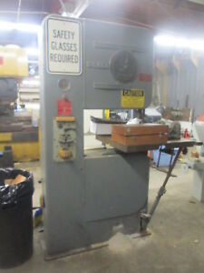 Do All Model 2612 26 throat Vertical Band Saw W speed Indicator
