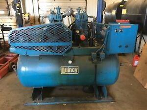 Quincy Qr25 Model 325 Air Compressor