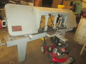 Kalamazoo Model 1220w 12 X 20 Horizontal Cut Off Band Saw 1hp 220 440 Volt 3ph