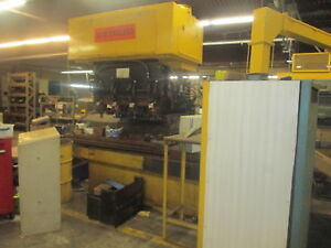 New England Machine Tool 4 Spindle Cnc Vertical Milling Machine W ramsey Cntrl