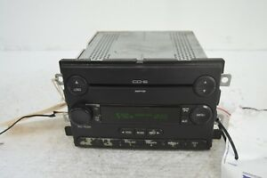 05 06 07 Ford Freestyle Radio 6 Cd Player Oem 5f9t 18c815 Eh Tested Z46 017