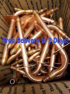 25 Copper Stub Out Elbows For 1 2 Pex Tubing With Ear 3 1 2 X 6