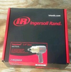 New Ingersoll Rand 2145qimax 3 4 Quiet Heavy Duty Impact Wrench Ships Free