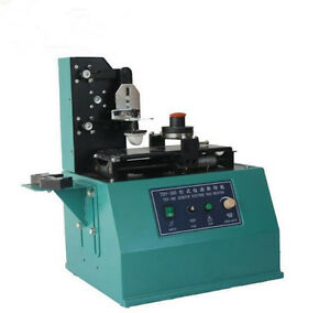 Tdy 300c Pad Printer Ink Printing Machine 380mm 15x50mm2 Square Plate Moderate D