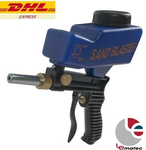 Lematec Sandblaster W Tip Spray Gun Dhl Ship Sodablasting Gun Air Power Tools