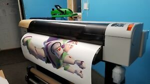 Prismjet V54 Large Format Color Printer Package With Laminator And Vinyl Cutter