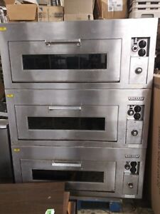 Ge hobart Cn60 Triple Stack Pizza Oven Electric