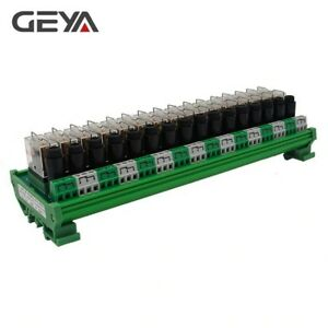 16 Channel Omron Relay Module With Fuse Protection 12vdc 24vdc Relay Plc 1no1nc
