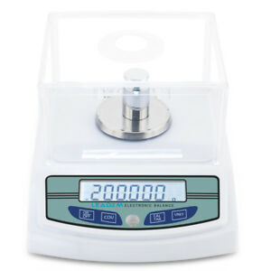 300g X 0 001g Lab Analytical Balance Digital Precision Electronic Scale Weight