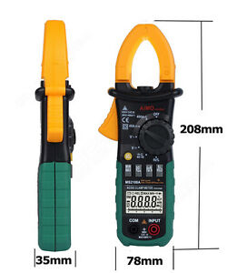 Ms2108a 4000 Ac dc Frequency Clamp Meter Digital Multimeter Lcd Voltage Tester