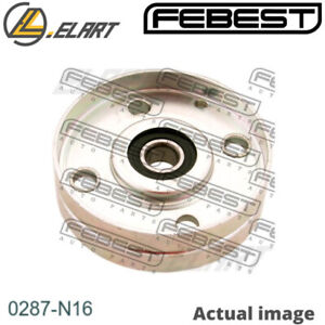 Tensioner Pulley V Ribbed Belt For Nissan Micra Ii K11 Cg10de Cg13de Febest