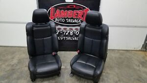 11 14 Nissan Maxima Black Leather Front Seats Street Rod