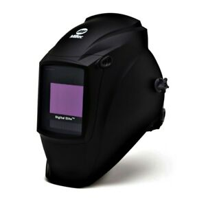 Miller 281 000 Digital Elite Black Welding Helmet With Variable Shades