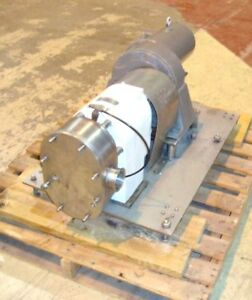 Triclover Positive Displacement Pump Model Pred 125 Stainless Steel