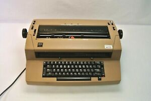 Ibm Correcting Selectric Iii Typewriter Motors Work No Ribbon