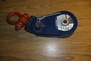 Crosby Mckissick 419 5 6 Ton Snatch Block Pulley W Shackle