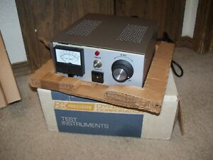 Vintage Bk Precision Dynascan Corp Variable Ac Power Supply Model 1653 In Box