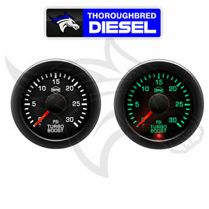 Isspro Ev2 Turbo Boost Gauge 0 30 Psi R17133