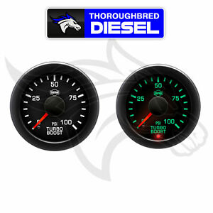 Isspro Ev2 Electronic Turbo Boost Gauge 0 100 Psi R17433